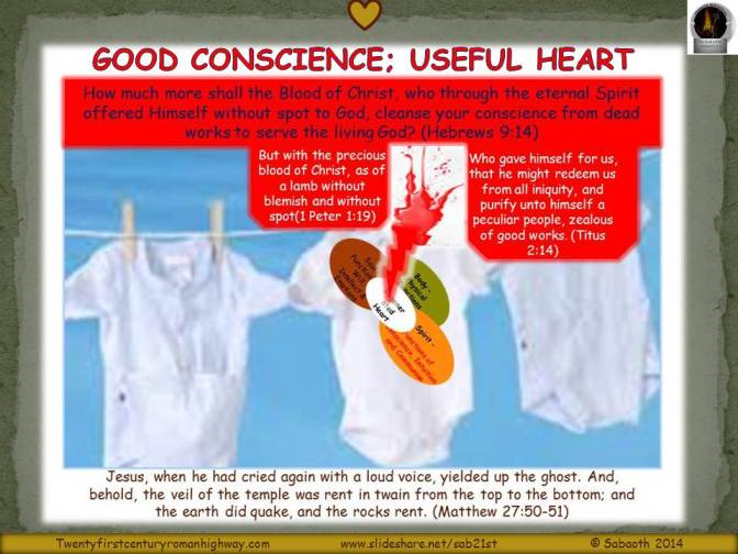 Good Conscience: Useful Heart